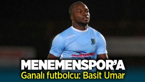 Menemenspor'a Ganalı futbolcu : Basit Umar