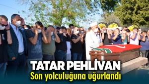 Milli güreşçi 'Tatar Pehlivan' Lütfü Siyamük, son yolculuğuna uğurlandı