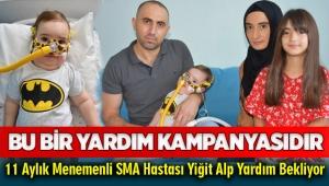 SMA Hastası 11 aylık Yiğit Alp Yardım Bekliyor!