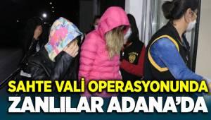 Adana'da Kendilerini Vali olarak tanıtan sahtekarlar sorguda!