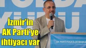 AK Parti İzmir İl Başkanı Kerem Ali Sürekli İzmir'in AK Parti'ye ihtiyacı var dedi