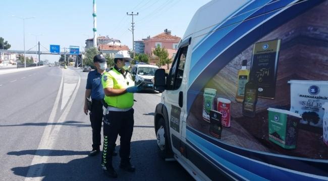 Alaçam'da Emniyet güçleri alkollü sürücülere acımadı