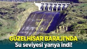 Aliağa Güzelhisar Barajı'nda Su Seviyesi Yarıya İndi