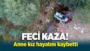 Aydın Efeler'de trafik kazasında Anne Raziye Özlem Uşaklı ve kızı Elif Uşaklı hayatını kaybetti