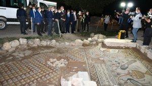 Bakan Ersoy 5 bin 500 yıllık antik kentte incelemelerde bulundu