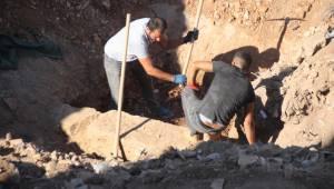 Bodrum'da İnşaat alanından tarih fışkırdı, milyonluk proje durduruldu