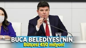 BUCA BELEDİYESİ BÜTÇESİ 450 MİLYON LİRA