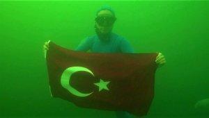 Dünya rekortmeni Şahika Ercümen Kocaeli'de balık çeşitliliğine hayran kaldı