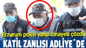 Erzurum Palandöken'de öldürülen yaşlı kadının katili inşaat işçisi çıktı