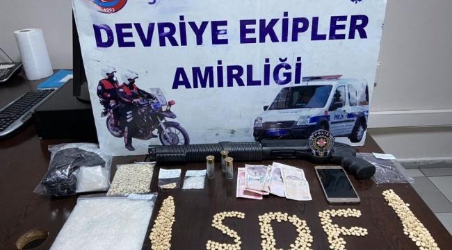 Gaziantep'de Uyuşturucu satıcılarına suçüstü