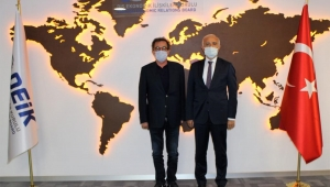 IAS Yönetim Kurulu ve DEİK Başkanı Nail Olpak bir araya geldi