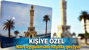 İzmir'de kişiye özel ulaşım kartı geliyor!