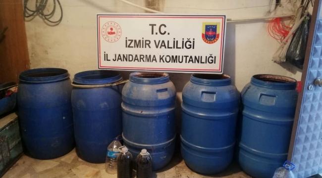 İzmir'de sahte içkileri piyasaya süreceklerdi, olası facianın önüne geçildi