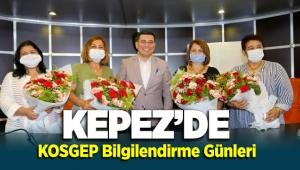 Kepez'de KOSGEB Bilgilendirme Günleri Başlıyor