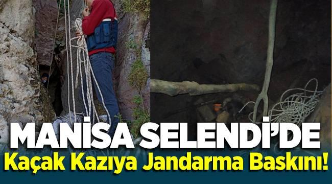 Manisa Selendi'de define kazısına jandarma operasyonu