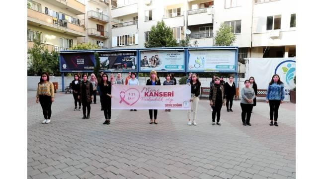 Meme kanseri için 'Farkındayız' etkinliği düzenlendi