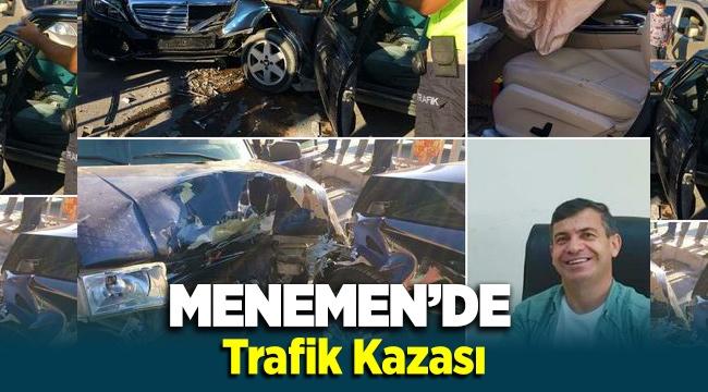 Menemen'de trafik kazası