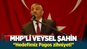 "MHP'li Veysel Şahin ""Hedefimiz Pagos zihniyeti"""