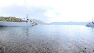 """MSB:""""Amfibi Görev Grup Komutanlığı bağlısı gemiler, Harekâta Hazırlık Eğitimleri icra etti"""""""