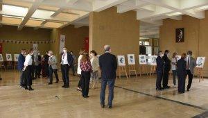 OMÜ Tıp Fakültesi'nde Atatürk Portreleri resim sergisi