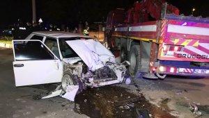 Aksaray'da Polisten kaçarken kaza yapan sürücü Yasin Yıldırım hayatını kaybetti