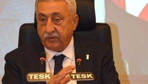 """TESK Genel Başkanı Palandöken: """"Ülkemizde tasarruf oranı her yıl düşüyor"""""""