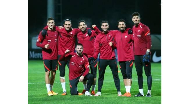A Milli Takım, Macaristan maçı hazırlıklarına başladı