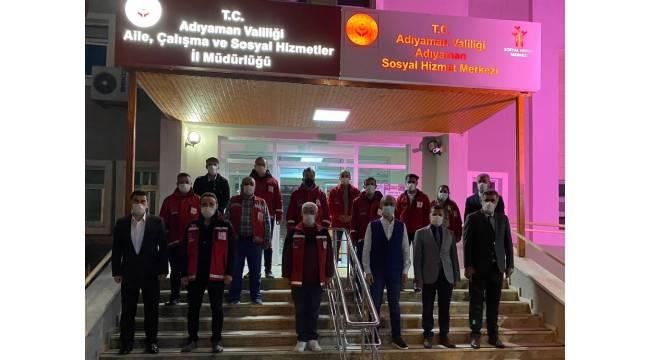 Adıyaman'dan İzmir'e psikososyal ekipleri