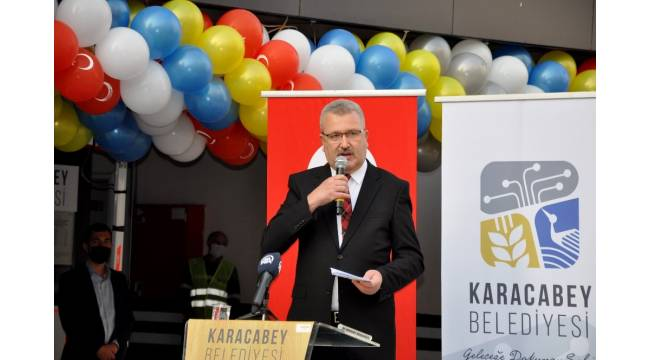 AK Parti Genel Başkan Yardımcısı Özhaseki otopark açılışı yaptı