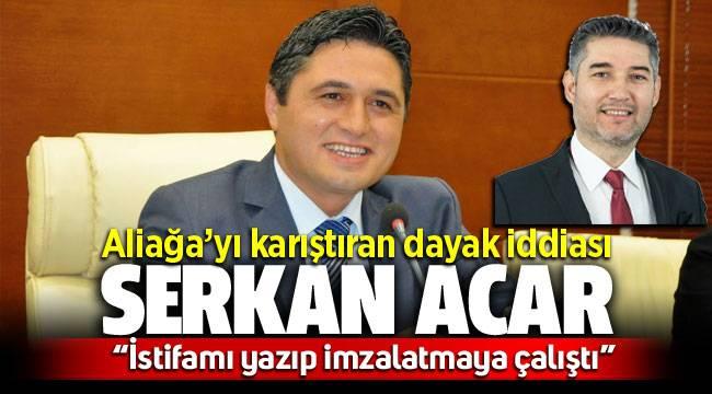 Aliağa'yı karıştıran dayak iddiası! Meclis üyesi Fatih Kürşat Belediye Başkanı Serkan Acar'dan şikayetçi oldu