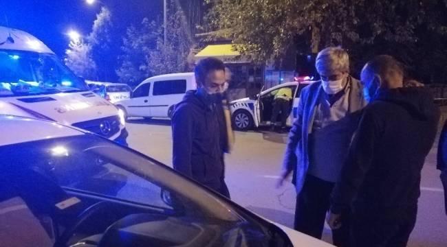 Alkollü sürücünün aracına çarptığını yardıma gidince anladı