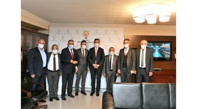 Ankaralı şoförlerden AK Parti Grup Başkan Vekili Köse'ye ziyaret