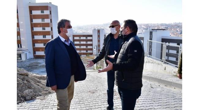 ASKİ Mamak'taki su sorununu çözmek için devreye girdi