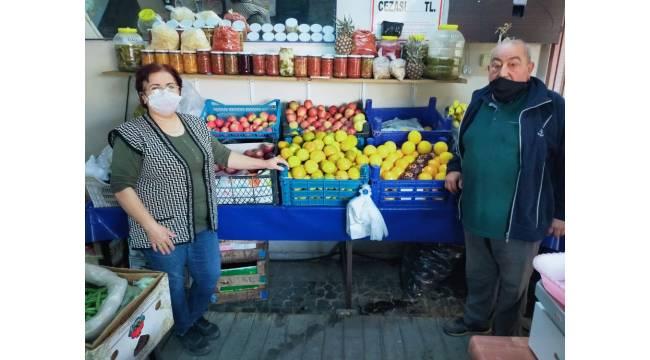 Aydın'da manavlarda kış yoğunluğu başladı