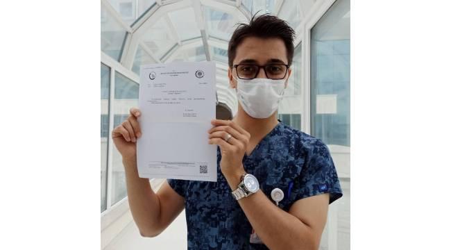 Azeri öğrenci Düzce Tıp Fakültesi temsilcisi oldu