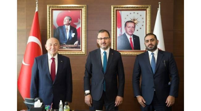 """Bakan Kasapoğlu: """"TFF ile beIN SPORTS arasında anlaşma sağlandı"""""""