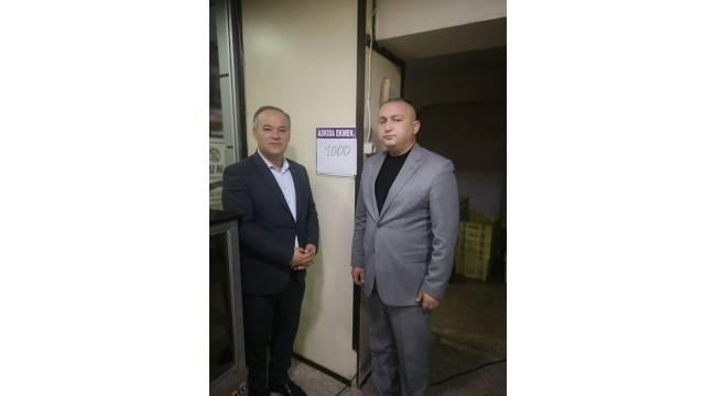 Balıkesir'de MHP'li yöneticilerden askıya bin ekmek