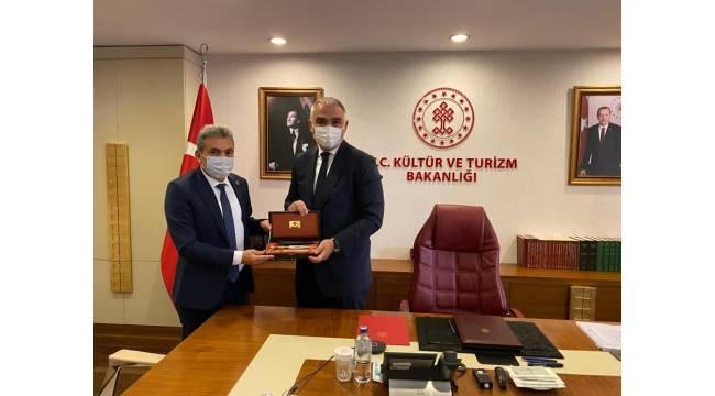 Başkan Aksoy, Ankara'dan müjdelerle döndü
