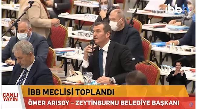 """Başkan Arısoy'dan İBB Meclisi'ne """"sansür"""" soru önergesi"""