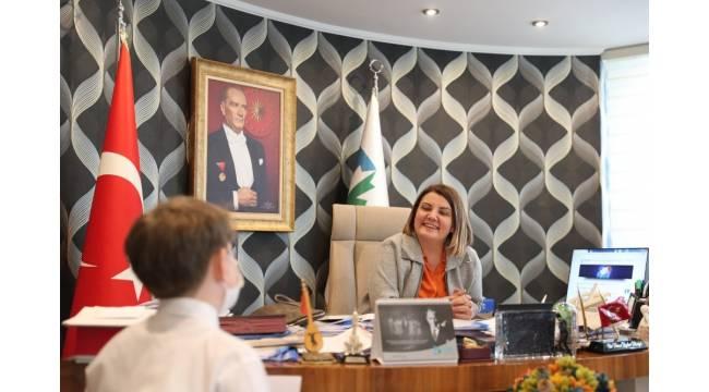 Başkan Hürriyet, çocuklara yönelik çalışmalarını anlattı