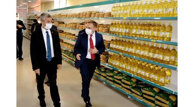 Başkan Tahmazoğlu'ndan Kaymakam Mutlu'ya Ziyaret