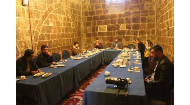 Başkan Tanğlay gazetecilerle bir araya geldi