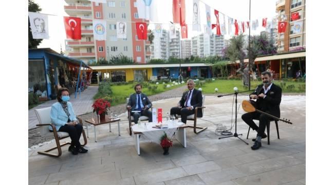 Başkan Tarhan Mezitli'yi anlattı