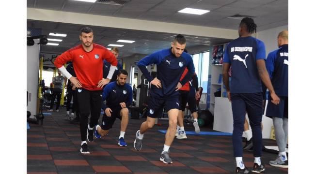 BB Erzurumspor, Trabzonspor çalışmalarını sürdürüyor
