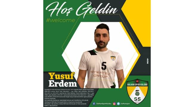 Bingöl Solhan Spor, Yusuf Erdem ile anlaştı