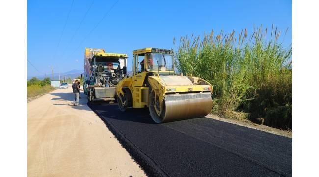 Büyükşehir'den Ortaca'ya yol yatırımı