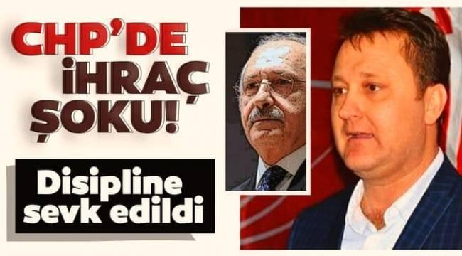 CHP'de Menemen Belediye başkanı Serdar Aksoy disipline sevk edildi