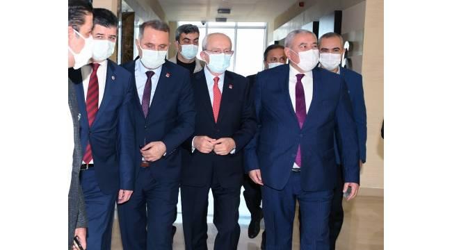 CHP Genel Başkanı Kılıçdaroğlu ATSO'yu ziyaret etti