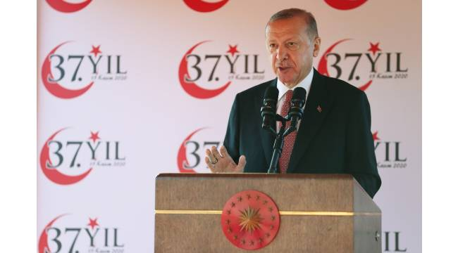 """Cumhurbaşkanı Erdoğan: """"Doğu Akdeniz'de ülkemizin ve KKTC'nin yer alamadığı hiçbir denklem barış üretemez"""""""