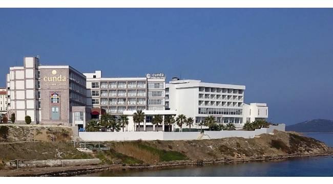 Cunda Uygulama Otel'ine güvenli turizm belgesi